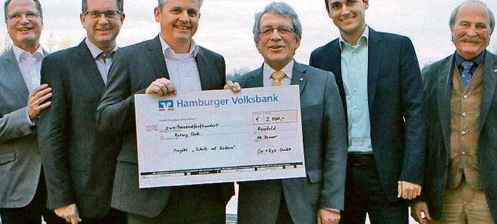 """Unterstützer für das Projekt """"Schule auf Rädern"""""""
