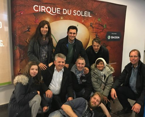 Be1Eye Event 2017 Cirque du Soleil