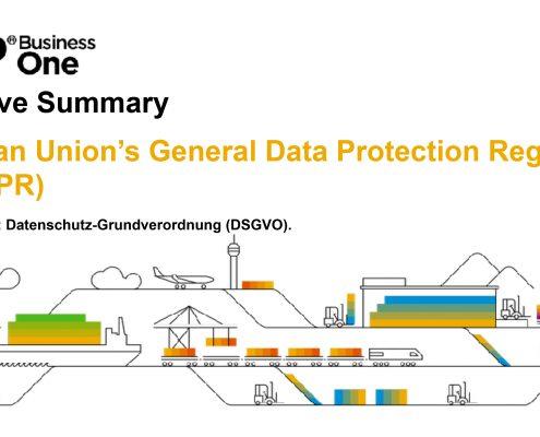 Datenschutz mit SAP Business One