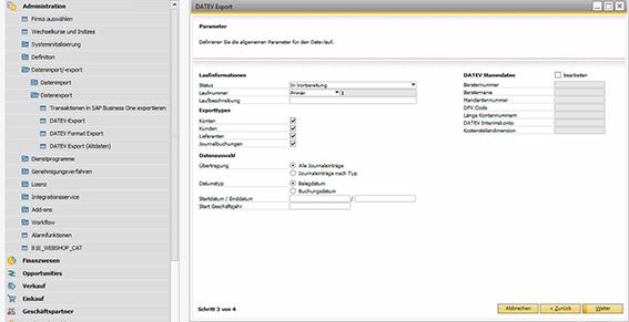 Neues DATEV Add-on für SAP Business One: