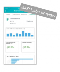 Die Sales-App auf der Roadmap SAP Business One 2018