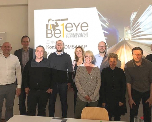 DMS Strategietag mit Be1Eye