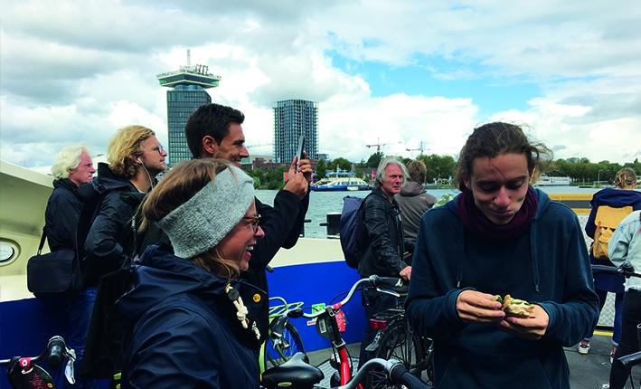 Teamreise Be1Eye Amsterdam Radtour