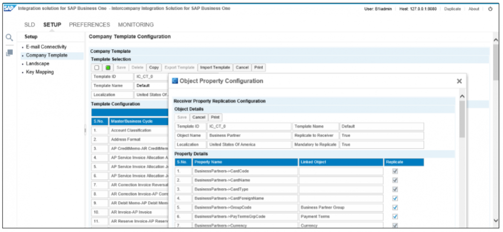 SAP Intercompany Master Data Replication