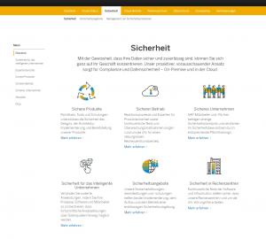 SAP Trust Center - Sicherheit
