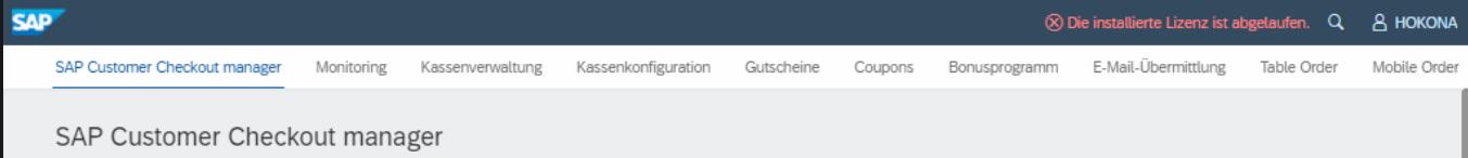 SAP Fiori Benutzeroberfläche
